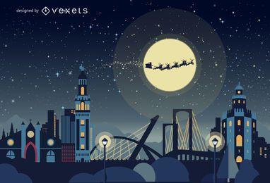 Sevilla horizonte de Navidad