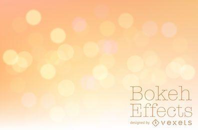 Orange yellow bokeh background