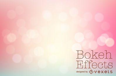 Fundo de bokeh rosa pastel