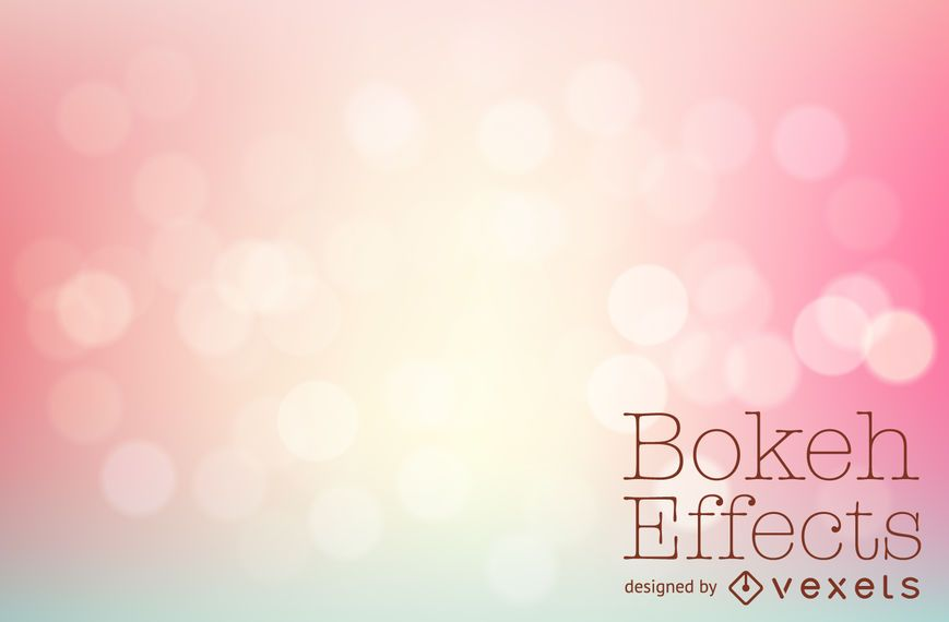 Fondo rosa pastel bokeh