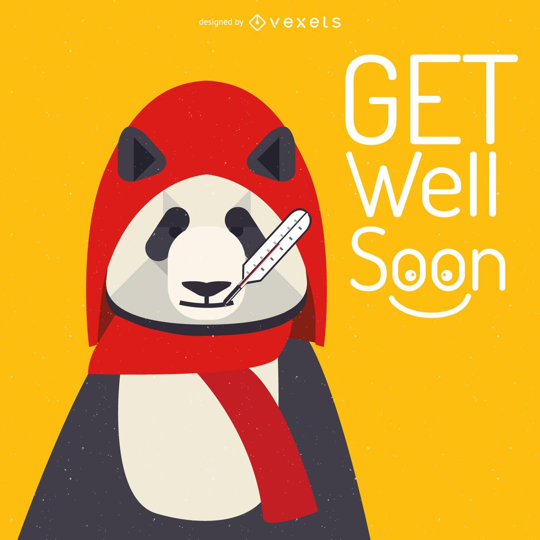 Melhore logo cartão panda