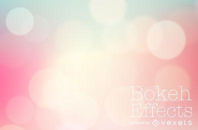 Cenário de bokeh gradiente rosa pastel