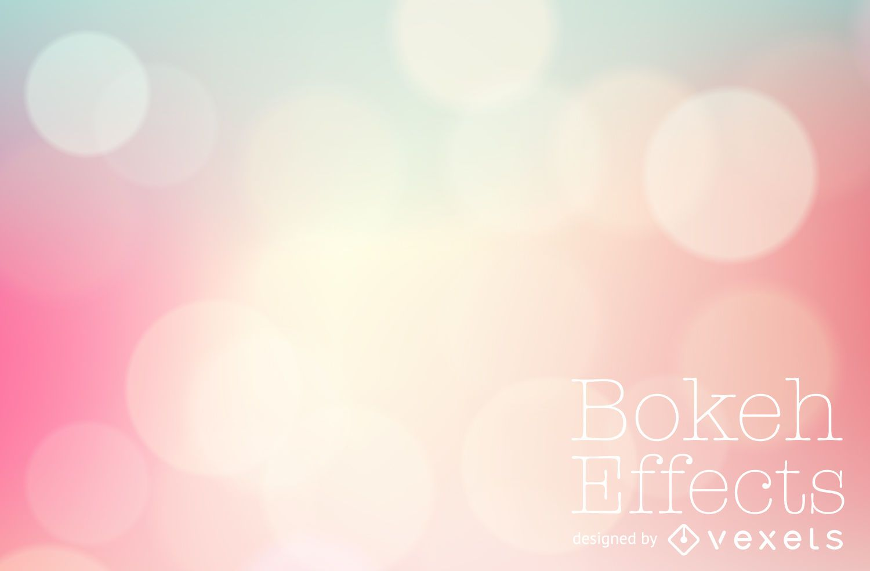 Pastel pink gradient bokeh backdrop