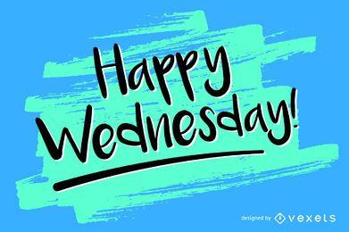 Handwritten Wednesday design