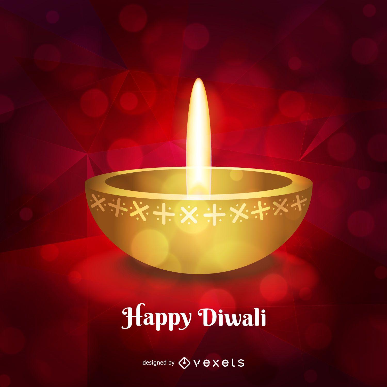 Happy Diwali Design Vector Download