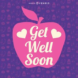 Get well soon apple message