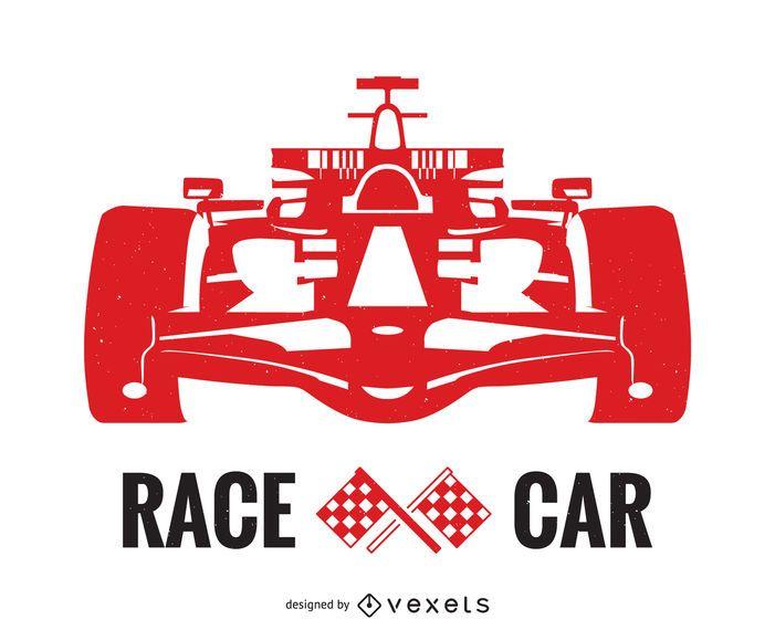 Racing car poster design