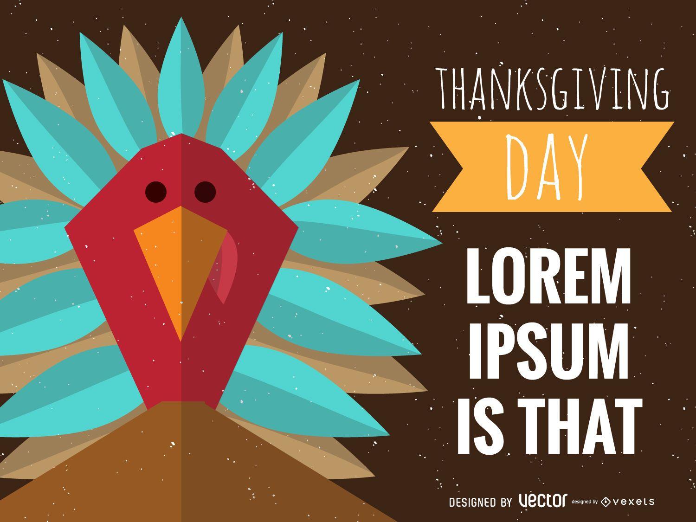 Polygonal Thanksgiving design