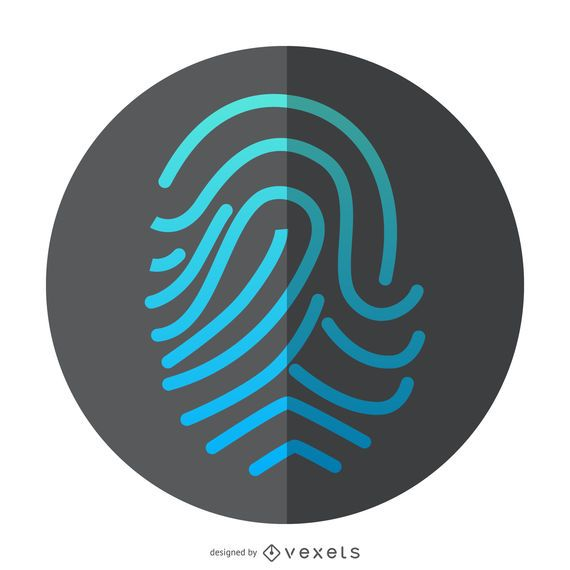 Fingerprint ID icon