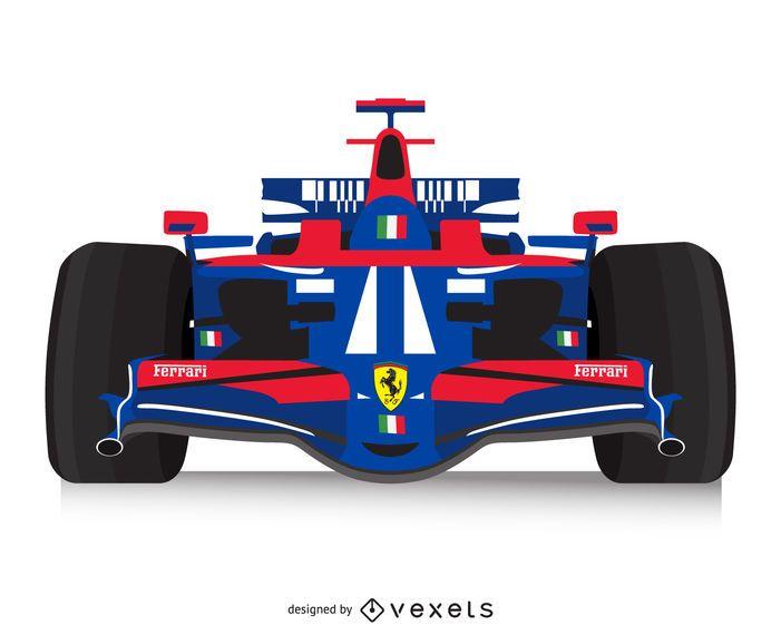Cartel de carreras italiano