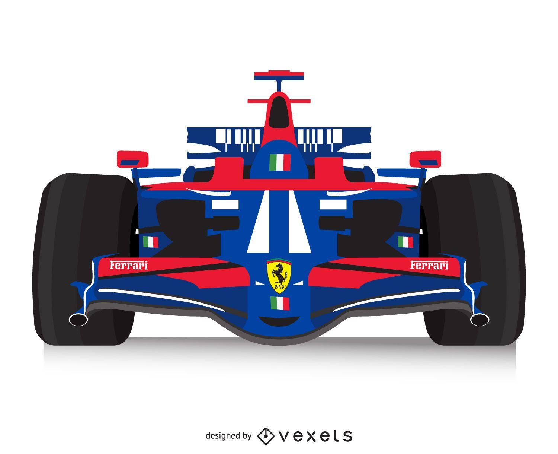 Italian Racing Car Poster