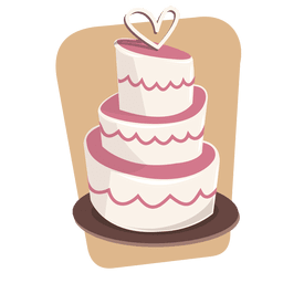 Cake dessert wedding