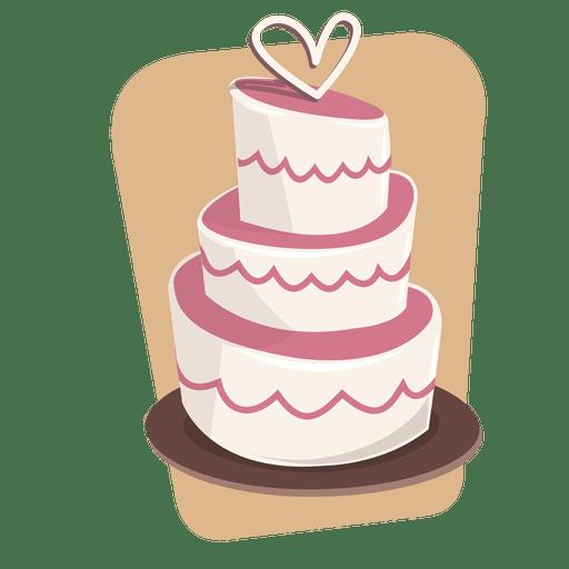 Pastel de boda de postre Transparent PNG