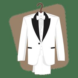 Hochzeitsanzug Bräutigam Feier