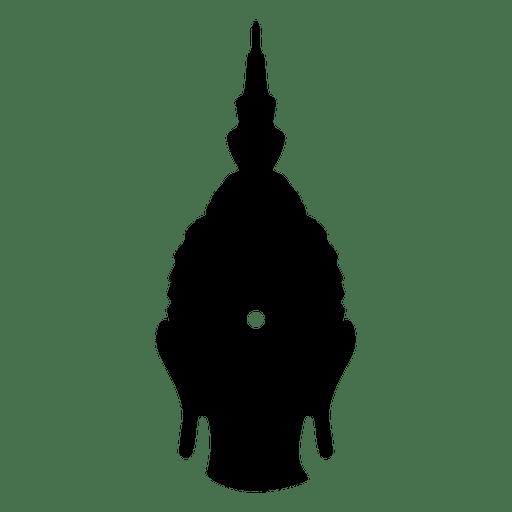 Icono de cabeza de buda budista