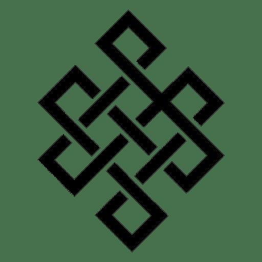 Buddhist mandala icon Transparent PNG