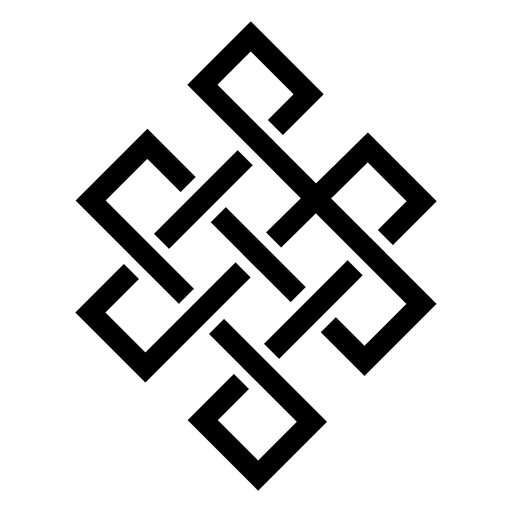 Buddhist mandala icon