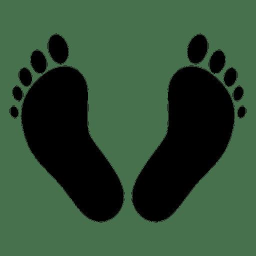 Icono de huella budista Transparent PNG