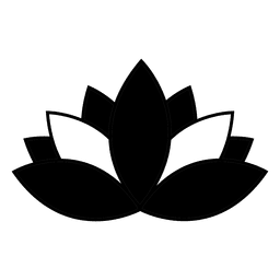 ícone de lótus budista & budismo símbolo buddha.svg