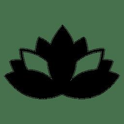Ícone de lótus budista e símbolo budista buddha.svg