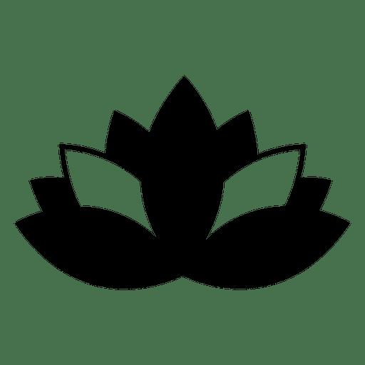 Icono de loto budista y símbolo de budismo buddha.svg Transparent PNG