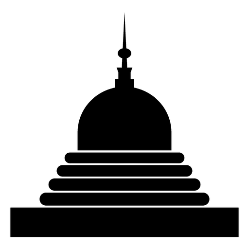 Icono de templo budista Transparent PNG