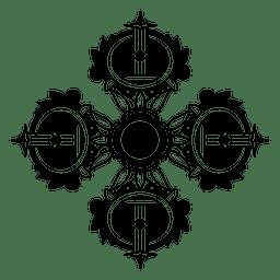 Ícone de design budista