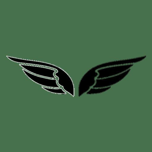 2 open wings