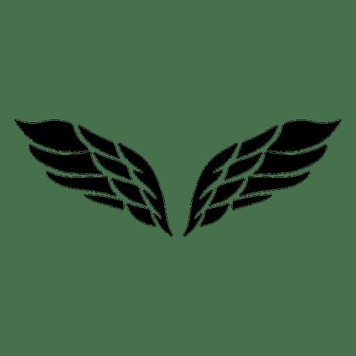 2 open wings logo
