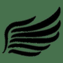 Asa de traçado abstrato 03