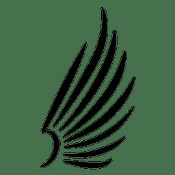 Asa de traço abstrato 06