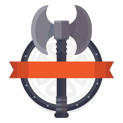 Axe war badge Transparent PNG
