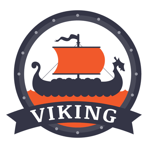 Viking War Badge Transparent PNG