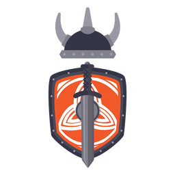 Viking warrior War Badge