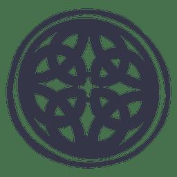 Emblema do emblema celta nórdico