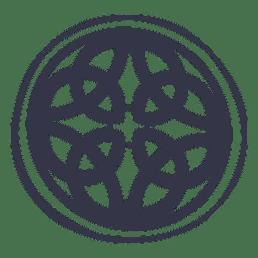 Insignia emblema celta nórdico