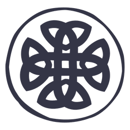 Celtic emblem nordic