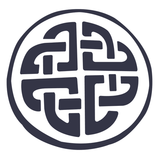 Insignia del emblema celta Transparent PNG