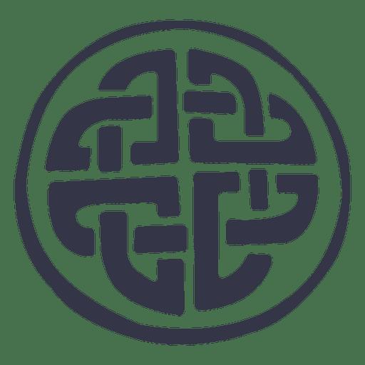 Insignia del emblema celta