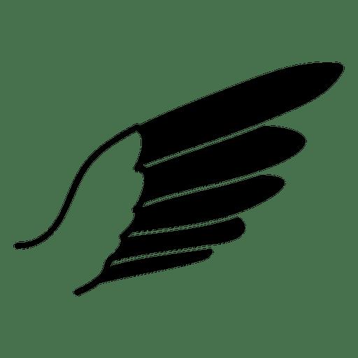 Silueta de ala de águila Transparent PNG