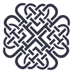 Emblem badge nordic celtic