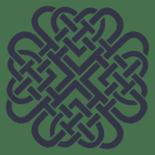 Emblema insignia nórdica celta