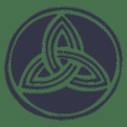 insignia del emblema celta nórdico