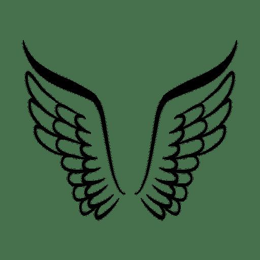 Open wing logo