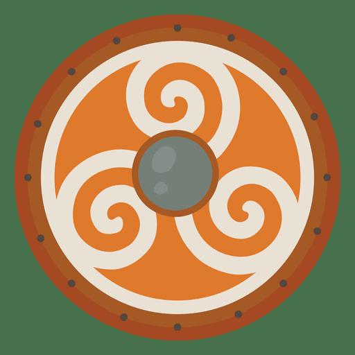 Escudo de guerra de soldados nórdicos. Transparent PNG