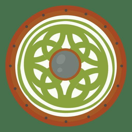 Green Shield War Transparent PNG