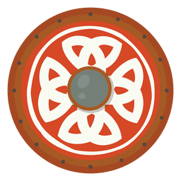 Escudo para ilustração de guerra