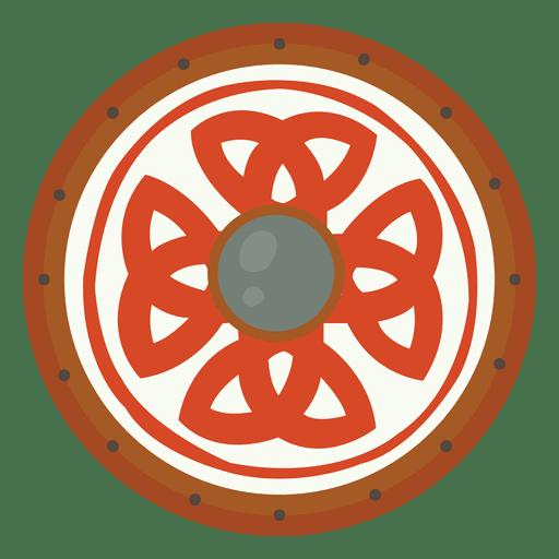 Red Shield War Transparent PNG