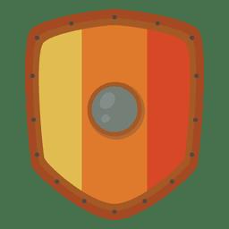 Soldado escudo guerra