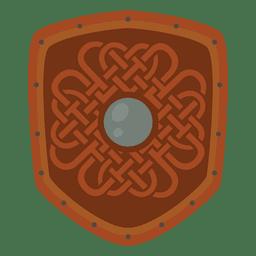 Escudo de guerra soldado